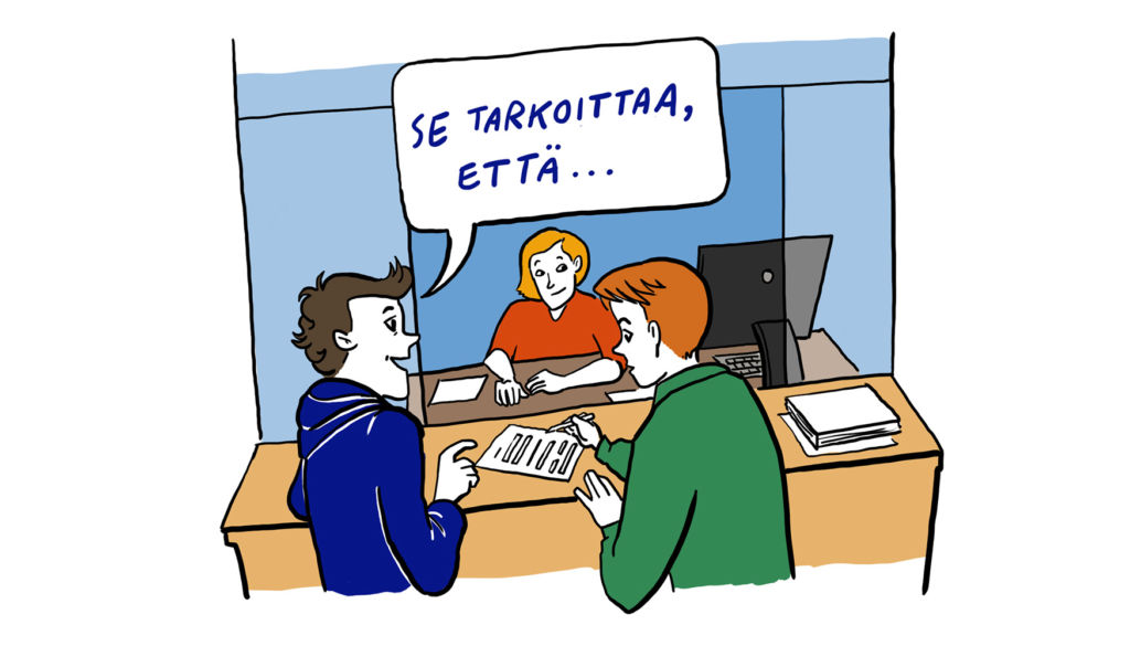 Kansalainen virastossa