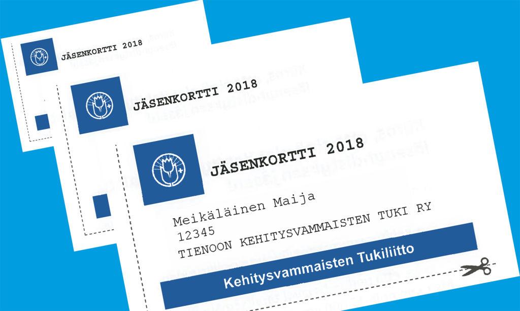 jäsenkorttikokeilu sininen