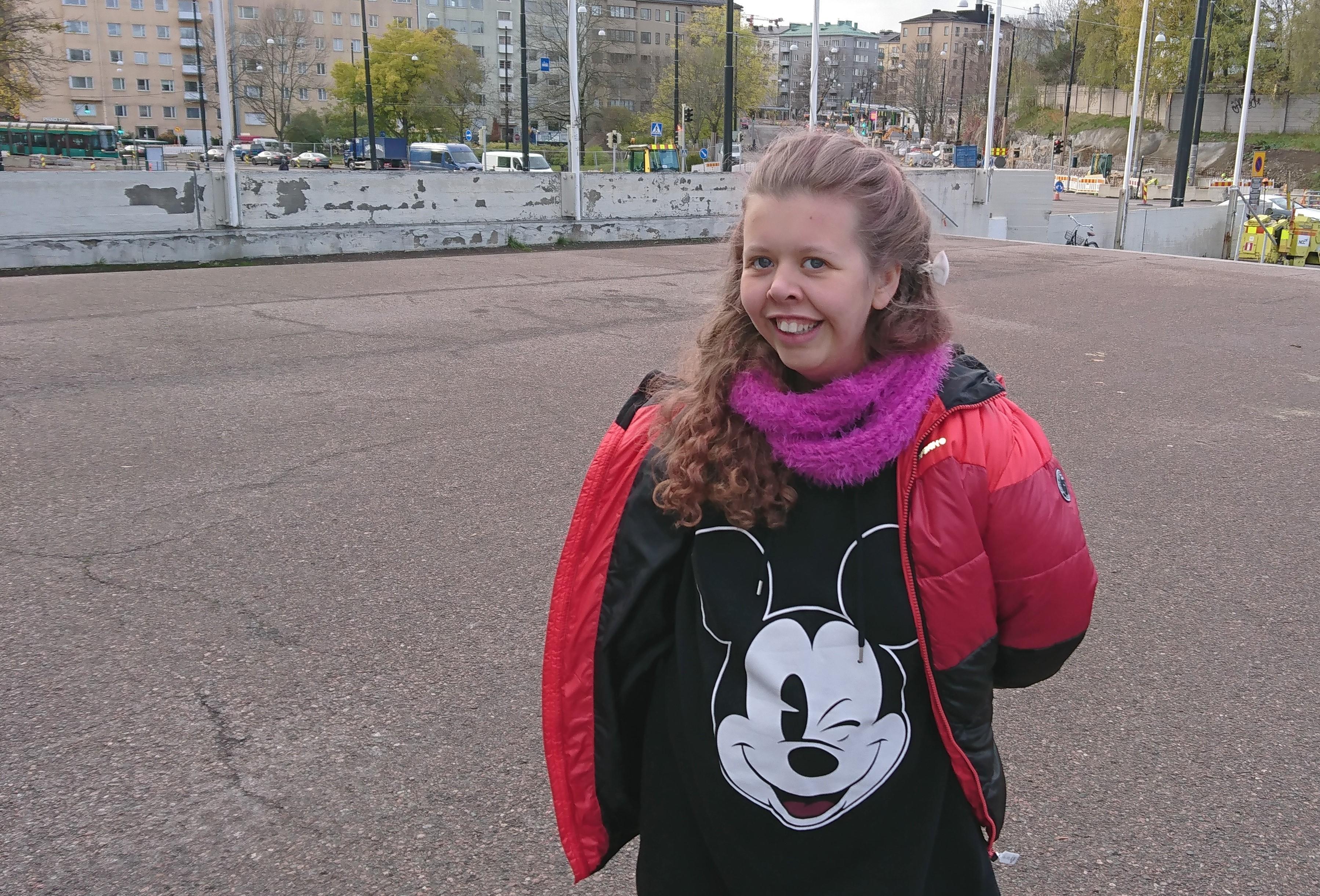 Lara Rantalainen rakastaa musiikkia ja joulujuttuja